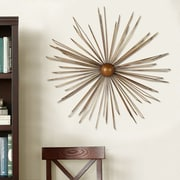 AdecoTrading Decorative Contemporary Modern Starburst Iron Widget Wall Decor
