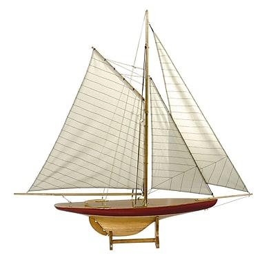 Authentic Models 1895 Defender Sail Model Boat
