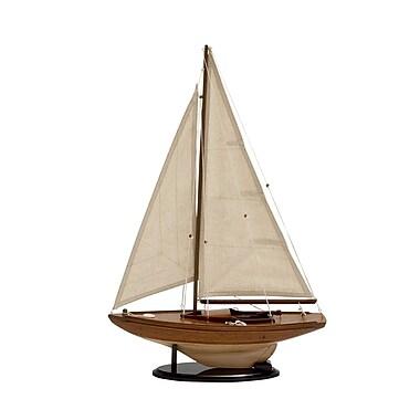 Cole & Grey Wood Sailing Ship Model Boat
