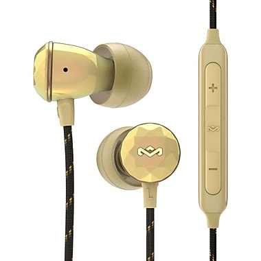 Marley - Écouteurs intra-auriculaires Nesta EM-FE033-GD, or
