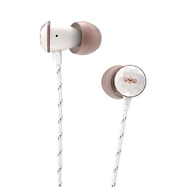 Marley - Écouteurs intra-auriculaires Nesta EM-FE033-RS, or rose