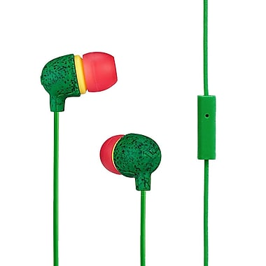 Marley - Écouteurs intra-auriculaires Little Bird EM-JE061-RA, rasta