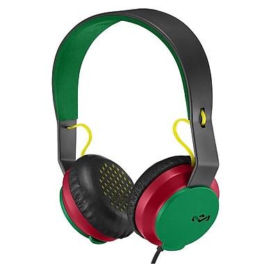 Marley - Casque d'écoute Roar EM-JH081-RA, rasta