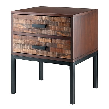 Winsome Jefferson End Table, Nutmeg (87618)