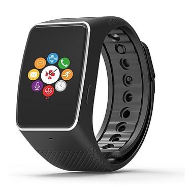 MyKronoz – Montre connectée ZeWatch4HR avec paiement sans contact NFC et capteur de fréquence cardiaque, noir
