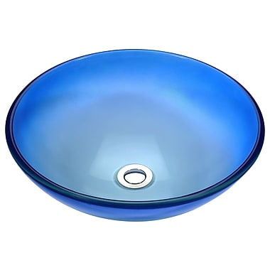 ANZZI Stellar Series Circular Vessel Bathroom Sink