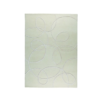 M.A. Trading Madrid Hand-Tufted White Area Rug