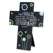 LighthouseChristianProducts Joy Blossoms His Plans Metal Wall Cross