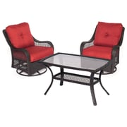 Hanover Orleans 7 Piece Deep Seating Group; Autumn Berry
