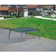 Frog Furnishings Plaza Dining Table; Green