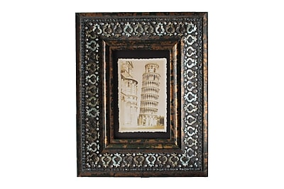 Jeco Inc. Patterned Picture Frame; 4'' x 6''