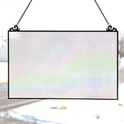 River of Goods Single Pane Stained Glass Window Panel; Opalescent
