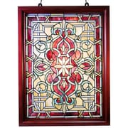 Warehouse of Tiffany Classic Wood Framed Window Panel