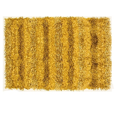 Ess Ess Exports SeaBreeze Hand-Woven Gold Novelty Rug