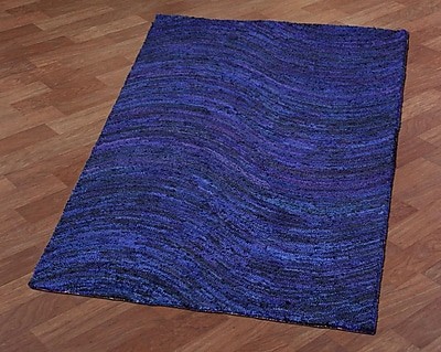 St. Croix Brilliant Ribbon Wave Hand-Tufted Area Rug; 5' x 8'