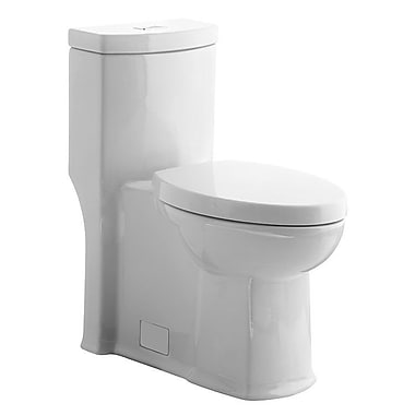American Standard Boulevard Right Height Dual Flush Elongated One-Piece Toilet