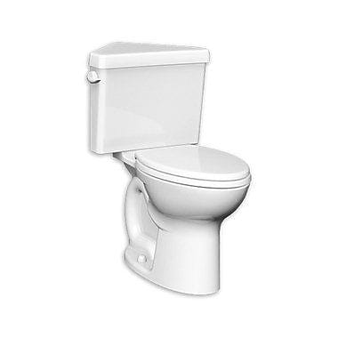 American Standard Cadet Triangle Pro Right Height 1.6 GPF Round Two-Piece Toilet