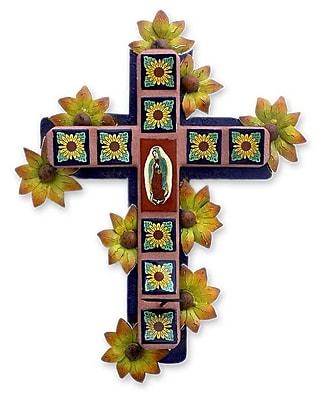 Novica Fair Trade Religious Ceramic Wall D cor