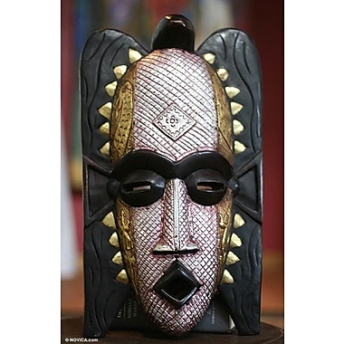 Novica Ghost Handmade Wood Mask Wall D cor