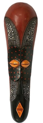 Novica Fair Trade African Wood Mask Wall D cor