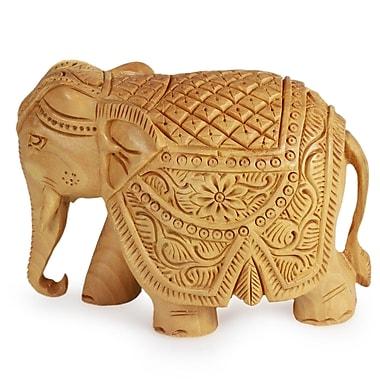 Novica Majestic Elephant Figurine