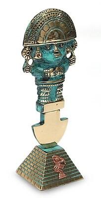 Novica Copper and Bronze Inca Style Knife from Peru Sculpture