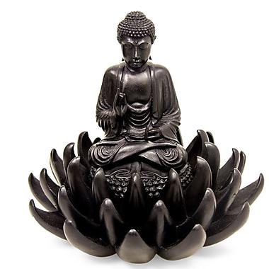 Novica Buddha on Lotus Blessing Sculpture