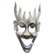 Novica Man of Fire Unique Modern Wood Mask Wall D cor