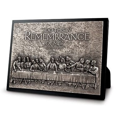 LighthouseChristianProducts Moments of Faith The Last Supper Sculpture Plaque