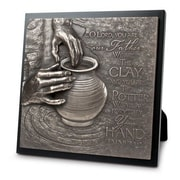 LighthouseChristianProducts Moments of Faith The Potter Sculpture Plaque