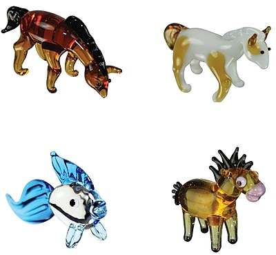 Looking Glass Figurines 4 Piece Miniature ArabianHouse,