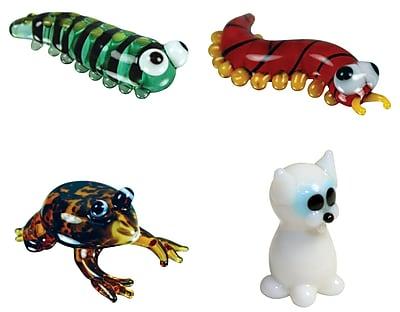 Looking Glass Figurines 4 Piece Miniature Caterpillar,