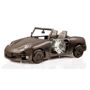 MatashiCrystal Charcoal Metal Plated Model Car