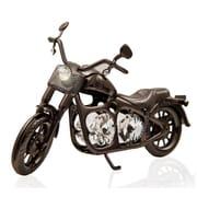 MatashiCrystal Charcoal Metal Model Motorcycle