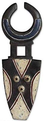 Novica Kulango Earth God Handmade African Wood Mask Wall D cor