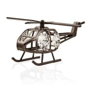 MatashiCrystal Charcoal Metal Plated Model Helicopter