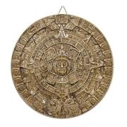 Novica Hand-Crafted Archaeological Ceramic Calendar Wall D cor