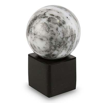 Novica Hand-Crafted Onyx Globe and Base Sculpture
