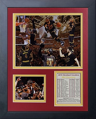 Legends Never Die 2016 Cleveland Cavaliers Championship Photo Collage Wall D cor