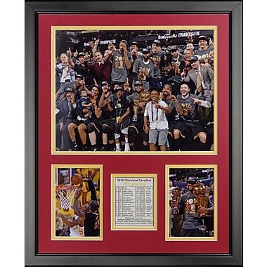 Legends Never Die 2016 Cleveland Cavaliers Championship Podium Celebration Photo Collage Wall D cor