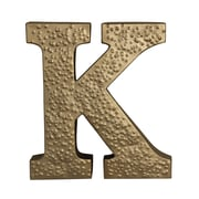 Cheungs Metal ''K'' w/ Hammered Accents Wall D cor