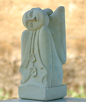Novica Handmade Stone Sculpture
