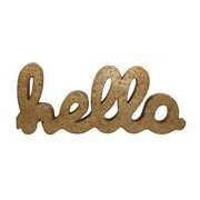 Cheungs Galvanized Hello Sign Wall D cor