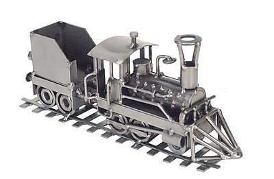 H & K SCULPTURES Locomotive Train Sculpture