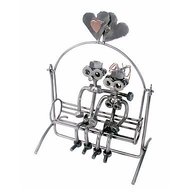 H & K SCULPTURES Love Swing Sculpture