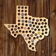 Home Wet Bar Texas Beer Cap Map Wall D cor