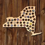 Home Wet Bar New York Beer Cap Map Wall D cor