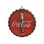 Creative Motion Coca Cola Metal Sign Wall D cor