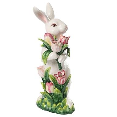 Kaldun & Bogle French Fields Tulip Bunny Figurine