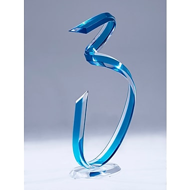 Muniz Helix Acrylic Sculpture